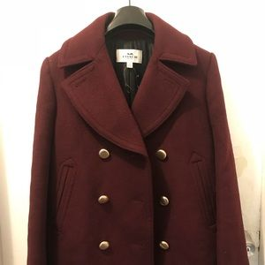 Wool Coach Woman Coat size XS